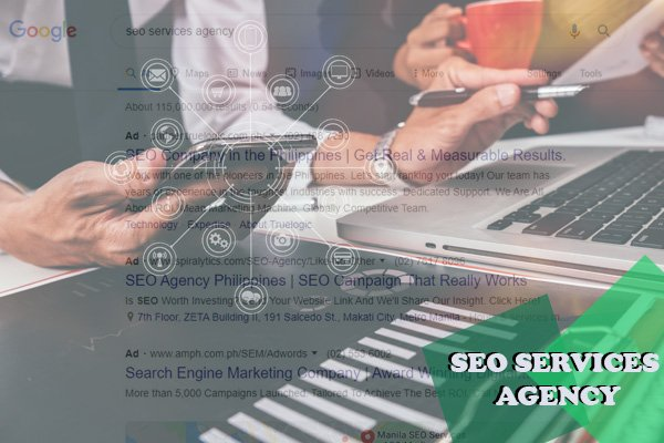SEO Services Agency Illustration